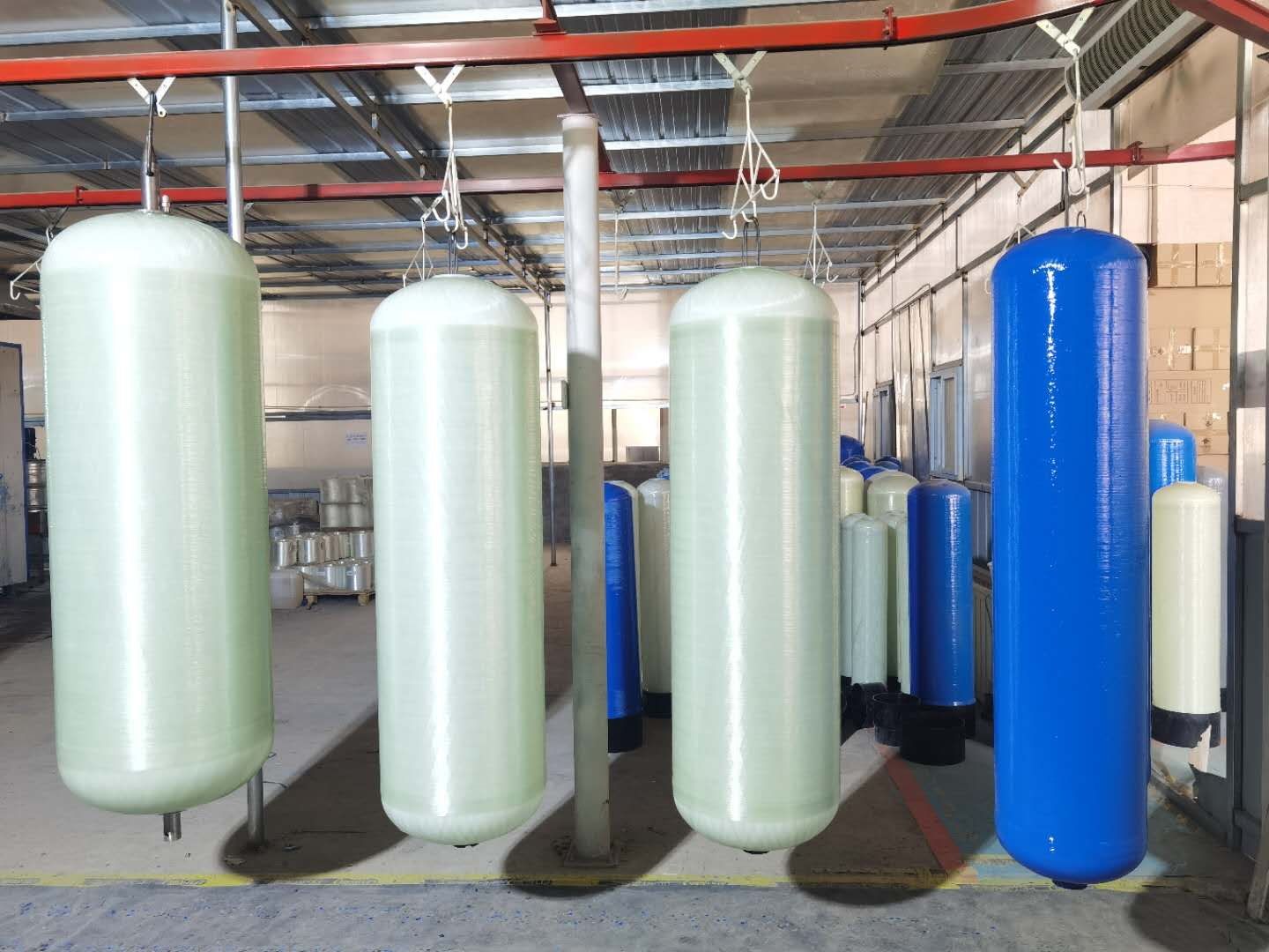 """0.6MPA FRP TANKS (6"""" to13"""") FOR RESIDENTIAL USE"""