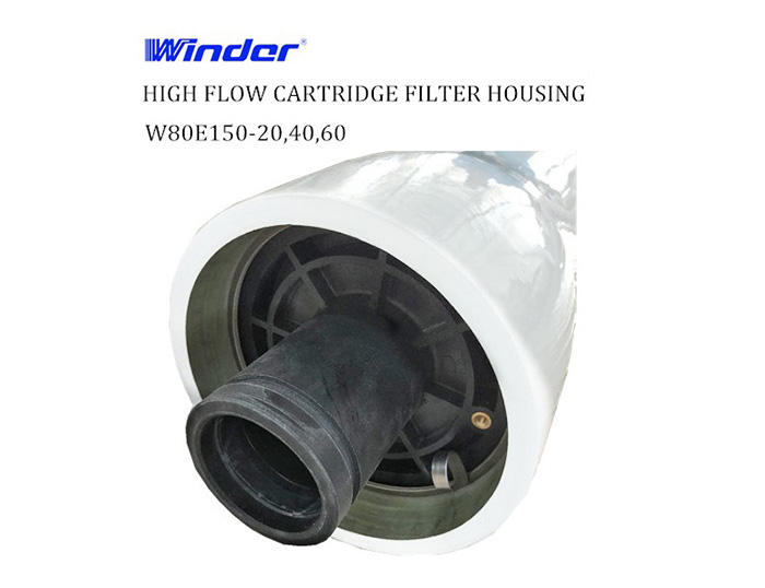 FPR HIGH FLOW CARTRIDGE FILTER HOUSINGS 80E150-20, 40, 60