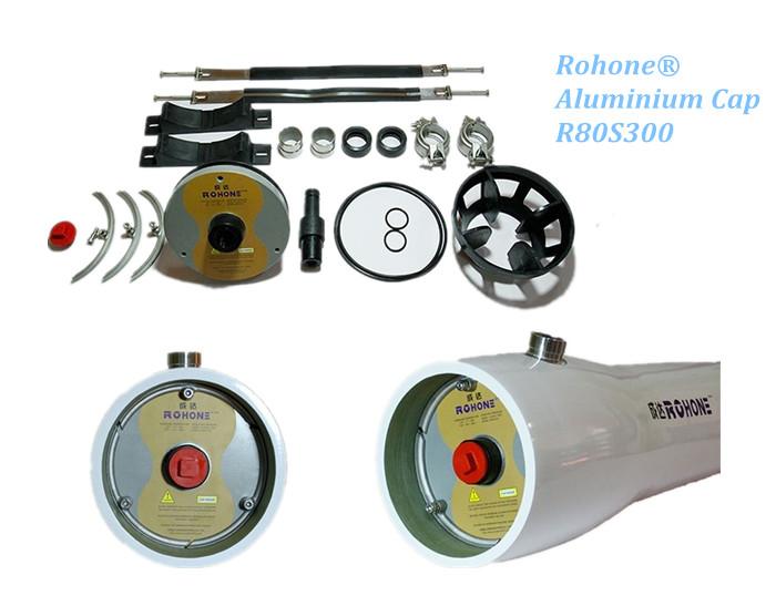 RB80S300/450-X ALUMINIUM CAP FRP MEMBRANE HOUSINGS